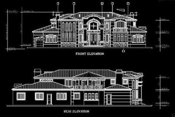 Paper To CAD Conversions, Architecture Drawing