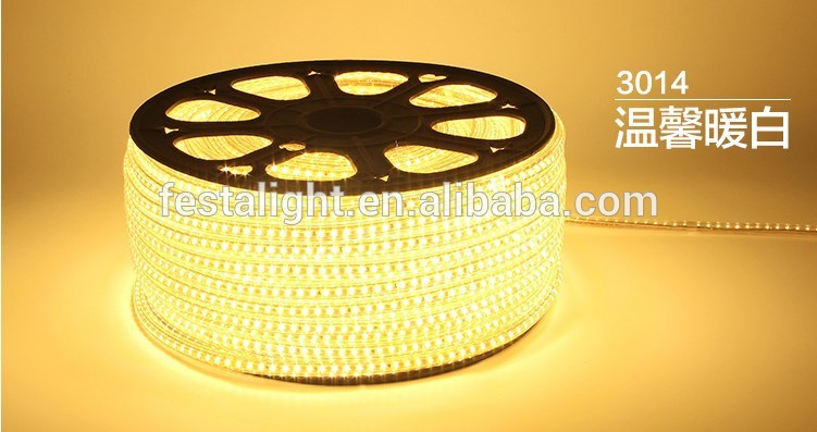 2015 china supplier surper bright waterproof SMD 3014 LED flexible strip light IP65