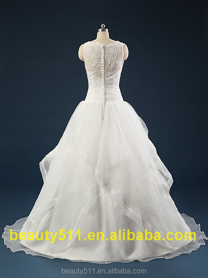 2017 new summer strapped wedding dress from china custom made wedding dress bridal gowns fashion wedding dresses AS421