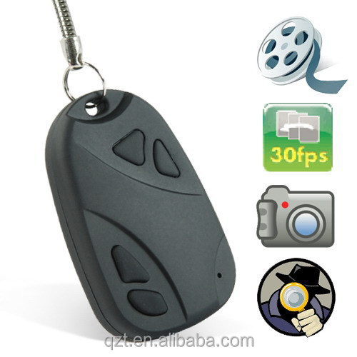 hidden HD mini <strong>camera</strong> Pinhole 808 Car Keys Chain Micro <strong>Camera</strong>