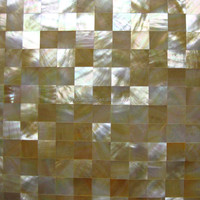 Golden lip mother of pearl mosaics yellow lip seashell mosaic wall tile indoor wall decoration