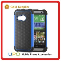 [UPO] Hot Sale Custom Combo Shockproof Hybrid Phone Case for HTC M8 mini
