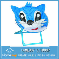 Cartoon design foldable kids planet chair, folding saucer chair, portable outdoor moon chair