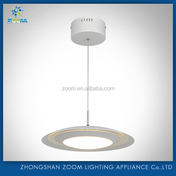 2016 led latest new pendant lamp with unique design metal shade for dinny room