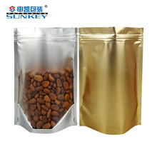 High oxygen and light barrier tea packaging bag stand up pouch bag