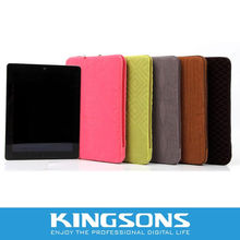 "2012 New arrival fabric sleeve bag for 9.7"" ipad"