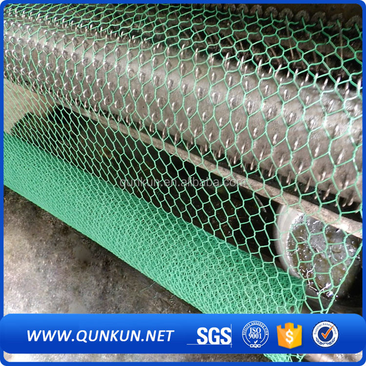 Pvc coated galvanized fish pot wire