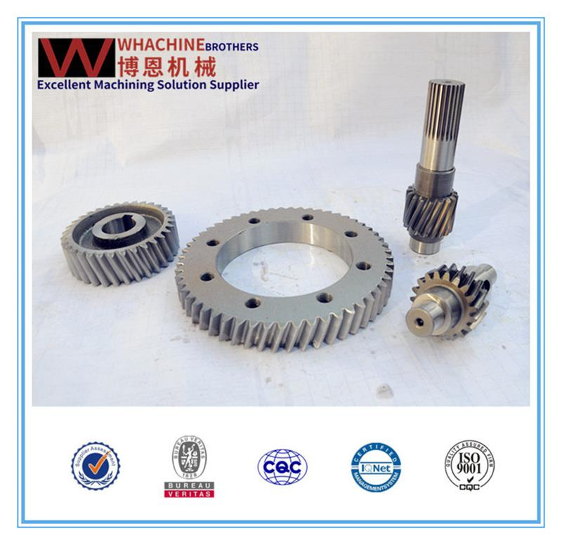 OEM&ODM cylindrical hardened gearbox electrical gear