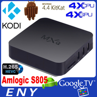 Install Google Play Store Android Tv Box Amlogic S805 MXQ Quad Core Android 4.4 Kitkat Arabic Tv Box