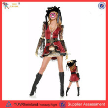 PGWC2748 Women's Party Carnival Sexy Caribbean Pirate Costume