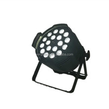 cheaper 18X15 W LED PAR Light (6 in1 color ) Indoor slim led par 64 with zoom
