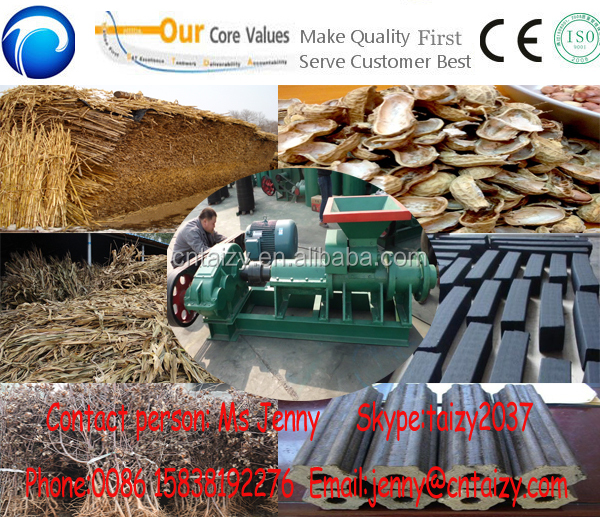 New model sawdust briquetting machine/ Wood charcoal briquette machine/ Sawdust charcoal briquette press