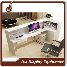 customized color FR-MDF material cash register desk