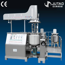 Vacuum emulsifier body cream making machine