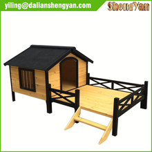 Outdoor large wooden flat pack wooden dog house for sale