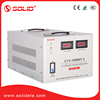 Solid electric svr 10 kva compensation automatic voltage stabilizer with 2 transformers