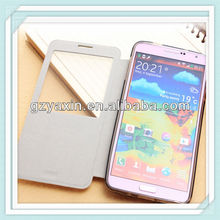 New product thin stand pu leather case for samsung galaxy note3 n9000