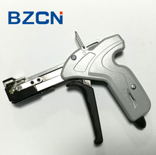 stainless steel cable tie tool self locking gun for tension tight cutter