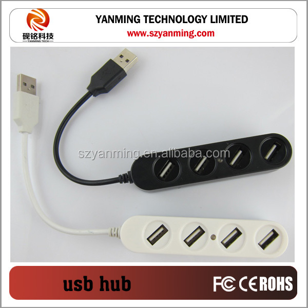 New arrival 4 port USB HUB 2.0 with cable