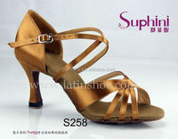 salsa shoes , fashion lady dress shoes ,dance shoes imported from china