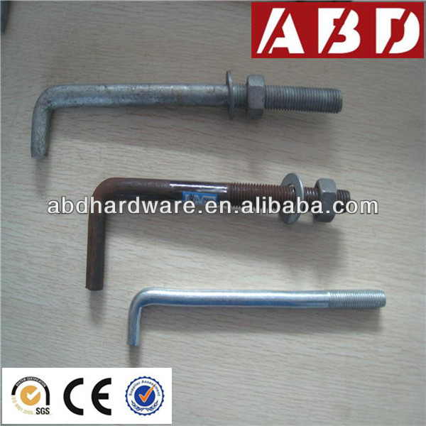 Different Types of Anchor Bolts for Concrete Formwork