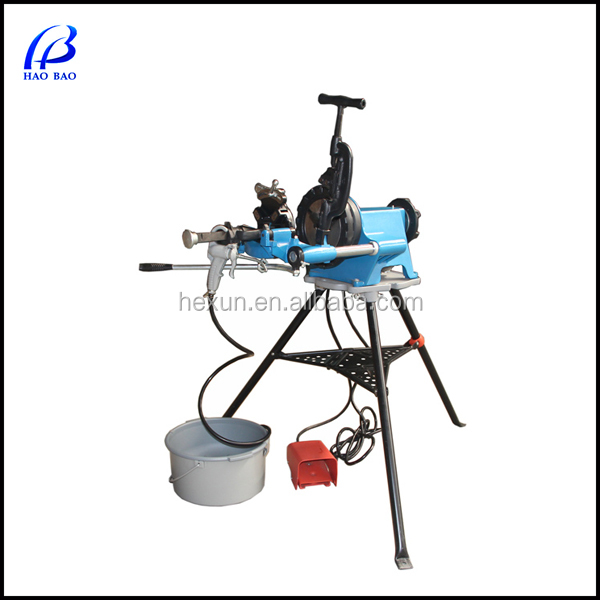 Portable electric high quality electric pipe threading machine