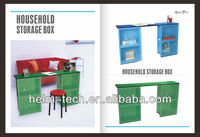 Multifunction Plastic Storage Office Desk
