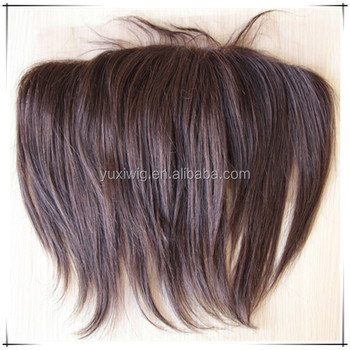 Brazilian human hair full lace frontal closures