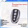 manufacture 4 keys rolling code HCS301 remote control for automatic door