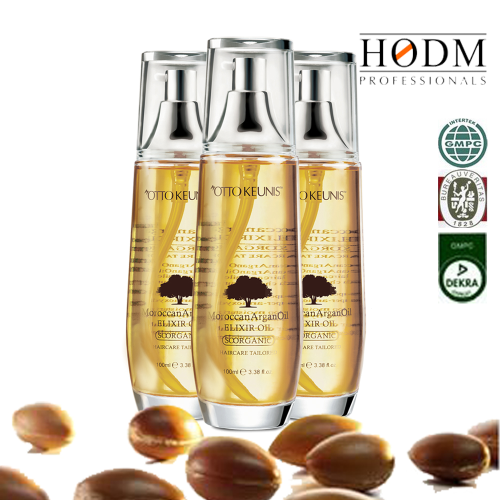 OEM essential oil manufacturer natural oil production, nourishing lock water argan oil for hair care