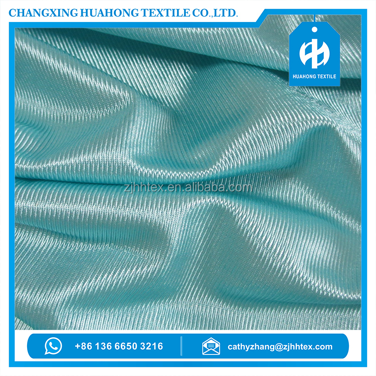 Polyester tricot dazzle mercerized fabric for dazzle basketball shorts