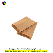 Professional production burger french fries paper bag