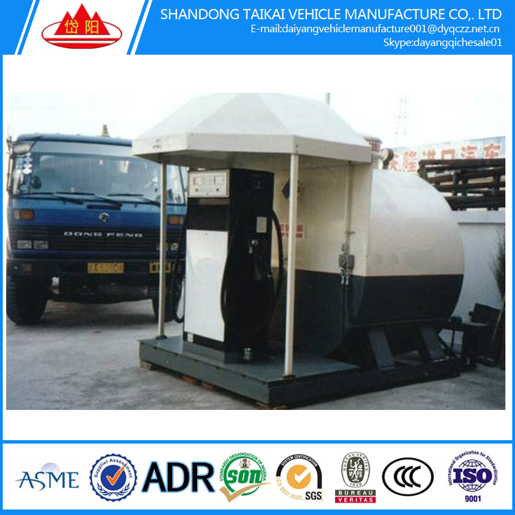 ISO certifcate diesel CONTAINER GAS STATION PETROL FILLING STATION