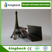 Kingbeck Brand 5.2 inch Rain Water Collect PVC Gutter Drainage System