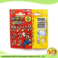 Self Adhesive Comic Bag,opp Transparent Plastic Self Adhesive Toy Bags
