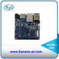 The popular Alliwnner H3 chip on board banana pi BPI-M2+ with 1Ghz ARM7 quad-core processor