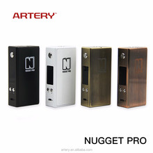 2017 new vapor mod ecigarette products 80w vapor Nugget pro from Artery