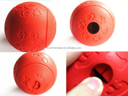 New Dog Snacks Ball Toy/ Pet Rubber Snack Ball/newest style Snack Pet Ball