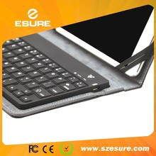 Multi-color waterproof quiet bluetooth keyboard case for tab s 8.4 inch