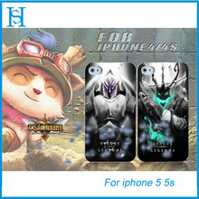 Cool lol league of legends mobile phone case for iphone 5 5s cover