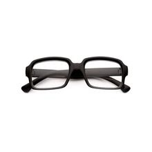Free Sample Hot Sell Black Spectacles Frames Fashion Square Frame Glasses