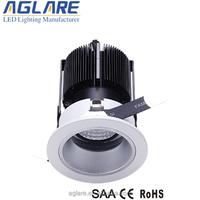 CE RoHs SAA certificated dimmable lighting cob led downlight 9w
