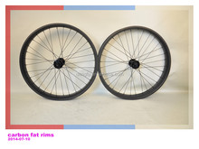 2014 DENGFU carbon fat bike rim 25mm snow bicycle rim 80mm width double walls fat bike taiwan rim