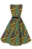 wholesale customize small quantity order ankara african design dress