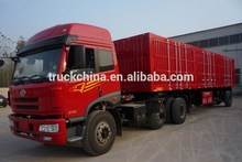 CIMC 13m 3 Axles Steel van type box semi trailer for sale
