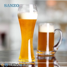 SANZO Promotional Selling Handmade Clear Beer Glass Boot