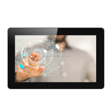 15.6 inch all in one pc USB powered capacitive touch screen panel monitor for sale