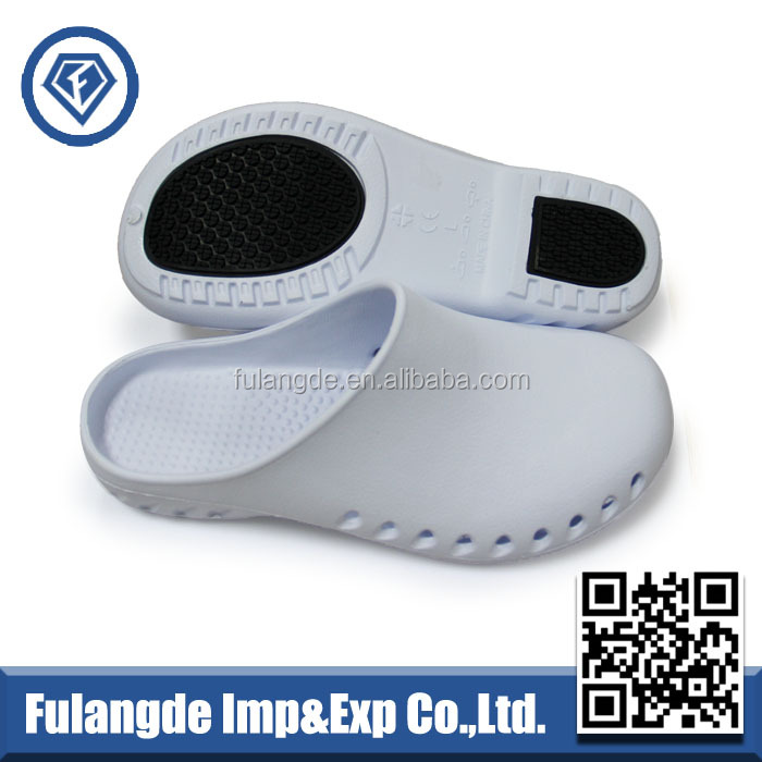 white orthopedic clogs non slip colorful nursing clogs