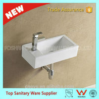 best quality wash hand sink sanitary ware wall hung basin