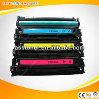 Hottest!!! CB540 CB541 CB542 CB543 toner cartridge for hp Color LaserJet CP1215/1515N/1518NI